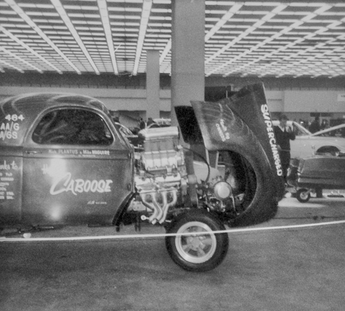 Caboose blown Willys Gasser