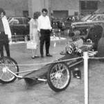 Blown Chevy front-engine Dragster