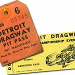 Detroit Dragway: August 1966 Funny Car Show