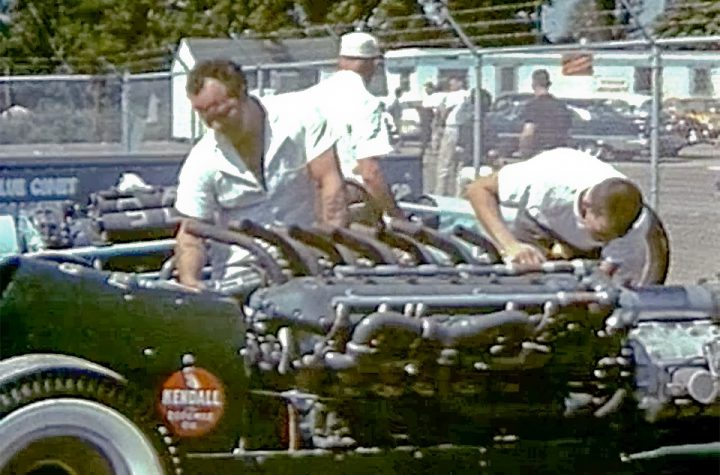 Ingenuity in Action is a fil that focuses on the 1959 US Nationals at Detroit Dragway
