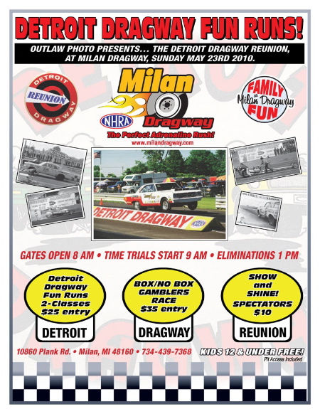 Detroit Dragway Reunion this Weekend