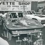 The Vette Shop display at the 1967 Autorama