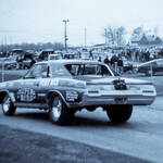 Ron Pellegrini's Superbird Buick Funny Car