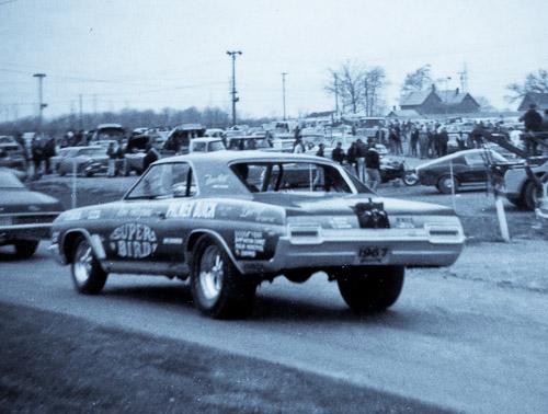 The SuperBird Buick funny car.
