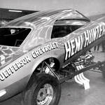Hemi Hunter Camaro Funny Car