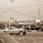 Dick Mack's Satisfaction Chevelle versus Bob DuBrock's Mustang