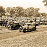 Almost 700 cars celebrate the 50th anniversary of the introduction of the Model A