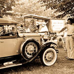Medicine Show and Model A Ford Roadster