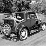 Model-A-Ford-Coupe with Rumble Seat