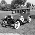 Model A Ford Fordor