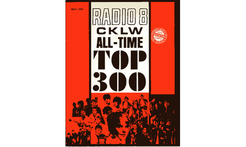 Cover from the CKLW All-Time Top 300, dated May, 1967