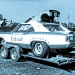 Jim Maybeck and the Patriot Chevelle Funny Car