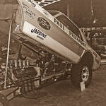 Paul Stefansky's Boss Hoss Mustang Funny Car