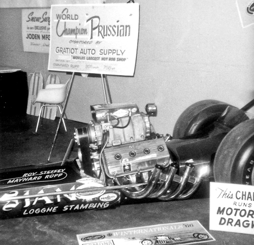 The Prussian Top Fuel Dragster