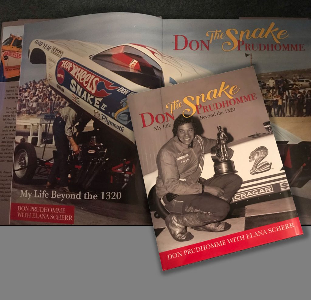 Don the Snake Prudhomme, My life beyond the 1320 is a new title from CarTech Books