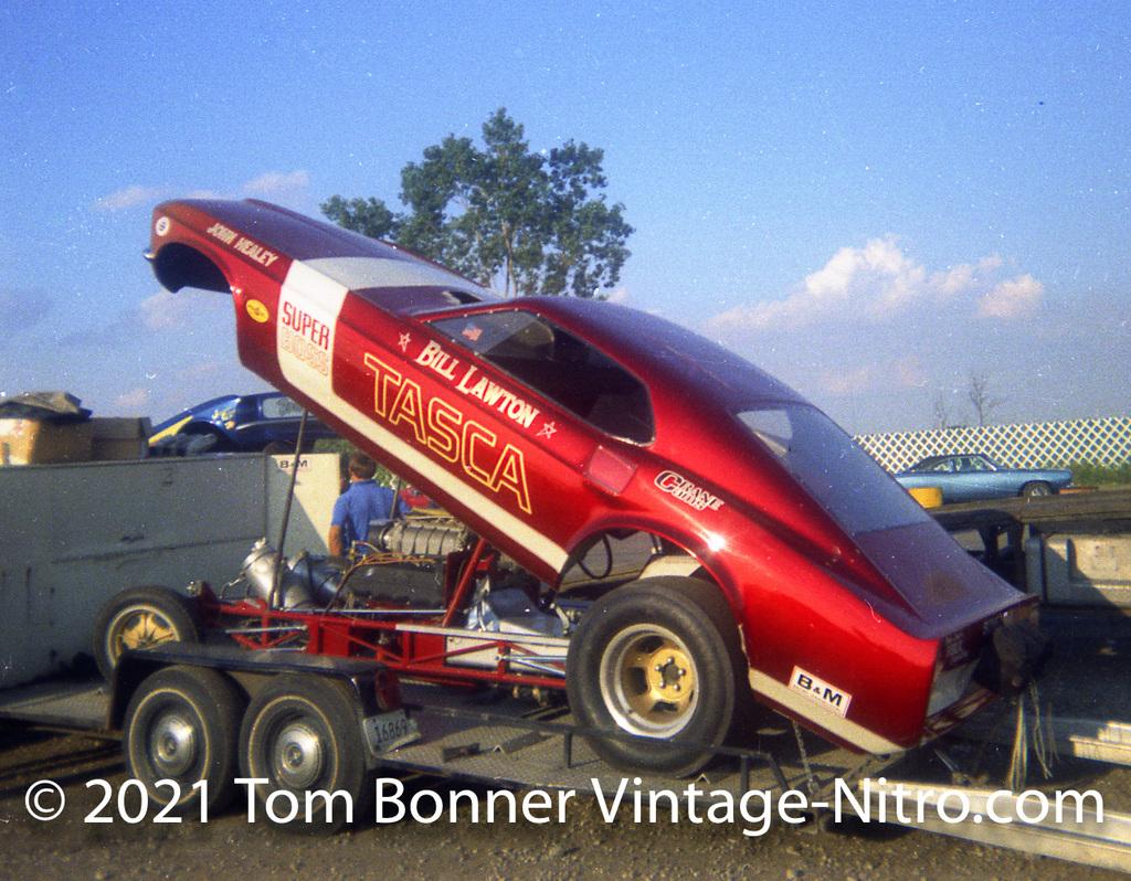 Bill Lawton's Super Boss Funny Car