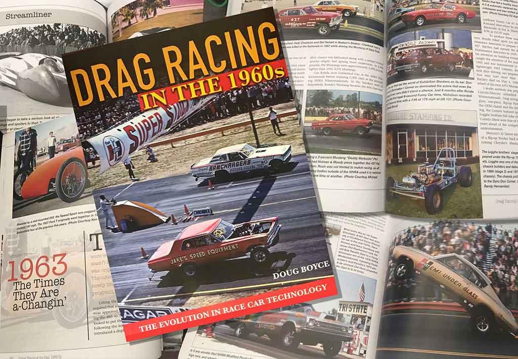 Doug Boyce's new Book: Drag Racing in the 1960s
